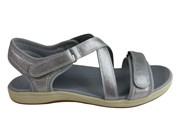 480e8cbe2ed Scholl Orthaheel Kayla Womens Comfort Supportive Adjustable Sandals
