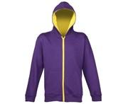 RW3493 B/&C Childrens//Kids Plain Hooded Sweatshirt//Hoodie