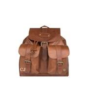Mahi Leather The Nomad Backpack in Vintage Brown Leather d954eaf3b053d