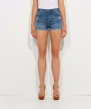 Levi's - Cuffed High Rise Shorts - Seabed