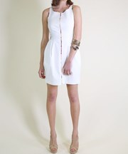 Living Doll - Less is More Dress - Ivory