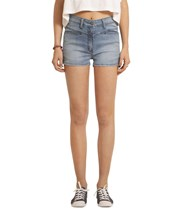 ZIGGY Denim - Harriet High Shorts - Bonza Blue