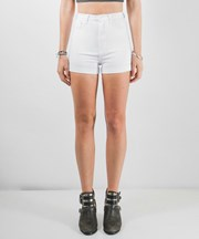 ZIGGY Denim - Hill Billy Shorts - White Chop