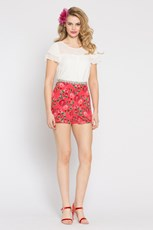 Alannah Hill Sunday Roses Shorts