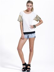 Sass Jasmine Denim Short Vintage California by SASS