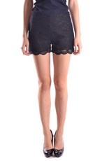 Edward Achour Paris Mini Shorts in Blue 721508