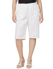 Beme Poplin Pull On Short white