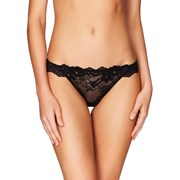 Pleasure State My Fit Lace Thong Brief Black