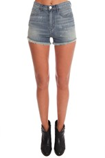 3x1 The W4 High Rise Cutoff Short Spinart