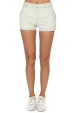 A.P.C. Bleached Mini Shorts Bleached Out