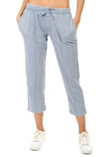Atm Anthony Thomas Melillo ATM Chroma Wash Cropped Pant Blue