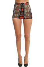Camilla High Waisted Tailored Shorts Dance Of The Dead