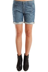 Genetic Denim Boyfriend Harem Shorts prairie