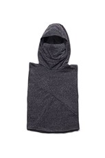 Nununu Knight Poncho Charcoal