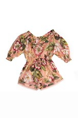 Zimmermann Kali Tropical Playsuit Tropical Floral