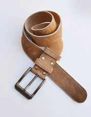 Bombo Clothing Co. Cowhide Belt Tan