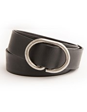 Stitch & Hide Daisy Belt Black