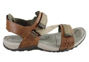 Merrell Terrant Strap Mens Comfortable Cushioned Leather Sandals