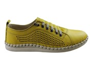 Orizonte Alinta Womens European Comfortable Leather Casual Shoes