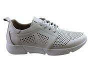 Orizonte Banks Womens European Comfortable Leather Casual Shoes