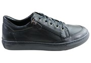Orizonte Bridgette Womens Comfort Leather Zip Casual Shoes