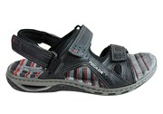 Pegada Jim Mens Leather Comfortable Cushioned Sandals Made In Brazil