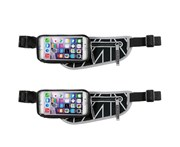 "Allsop 2PK Allsop ClickGo Running/Gym Water Proof Belt w/Zip Pouch/5.7"" Case For Phones"