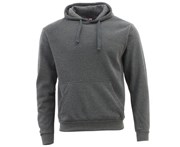 Fresh Idea Living Adult Men's Unisex Basic Plain Hoodie Jumper Pullover Sweater Sweatshirt XS-3XL - Dark Grey