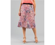 Black Pepper Womens Cecelia Pleat Skirt
