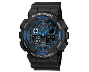 Casio G-Shock Men's 52mm GA100-1A2 Watch - Black