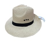 Dents Woven Paper Straw Panama Hat With Band