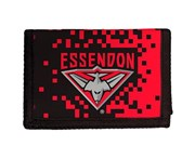 Afl Essendon Bombers AFL Money Wallet Coin Note and Card Compartments