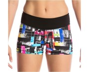 Funkita Ladies Test Signal Mimi Mini Short - Multi