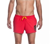 Funky Trunks Men's Code Red Shorty Shorts - Red