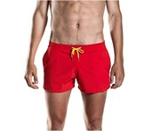 Funky Trunks Men's Still Red Shorty Shorts