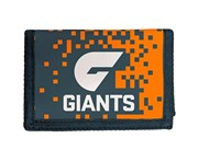 Afl Greater Western Giants AFL Money Wallet Coin Note and Card Compartments