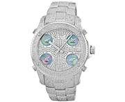 JBW Diamond Men's Stainless Steel Watch JET SETTER