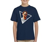 Motorsport Images Jenson Button Sunglasses Monaco GP 2017 Kid's T-Shirt - Navy Blue