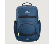 Kathmandu Parker Boys Girls Spacious Student School Bag Backpack Unisex Kids Rucksacks - Blue Dark
