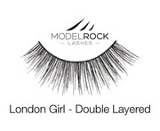 Model Rock MODELROCK Lashes London Girl - Double Layered Lashes