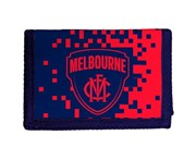 Afl Melbourne Demons AFL Money Wallet Coin Note and Card Compartments