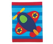 Stephen Joseph Kids Airplane Wallet