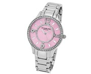 Stuhrling Original Women's 559.03 Symphony Analog Display Quartz Silver Watch