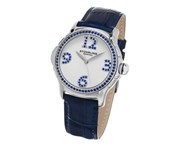 Stuhrling Original Women's 592.01 Vogue Analog Display Quartz Blue Watch
