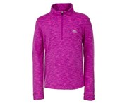 Trespass Childrens/Kids Abra 1/2 Zip Sweater Top (Bright Pink) - TP3215