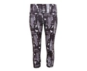 Tridri Womens Performance Sunset 3/4 Length Leggings (Charcoal) - RW6129