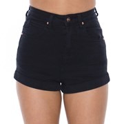 Ava And Ever Coloured Light Shorts Washed Black