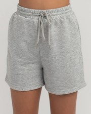 Ava And Ever Girls' Alyssia Shorts Grey Marl