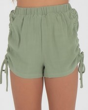 Ava And Ever Girls' Brielle Shorts Khaki