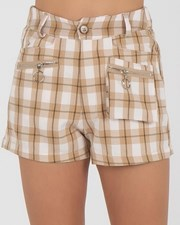 Ava And Ever Girls' Jade Shorts Beige